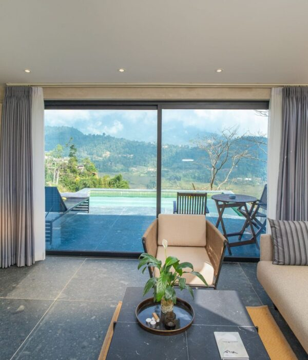 Pool Villa Living Room 1
