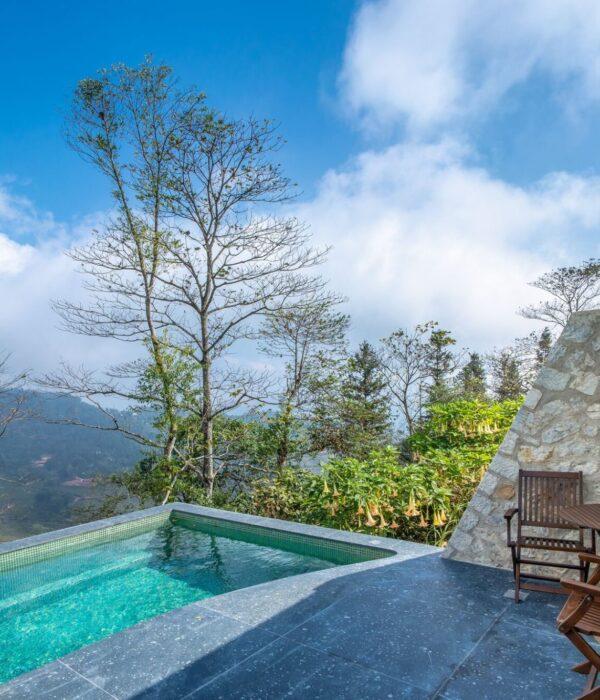 Pool Villa plunge pool 2
