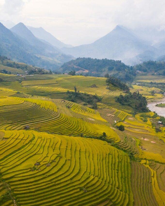 Rice Terrace hiking
