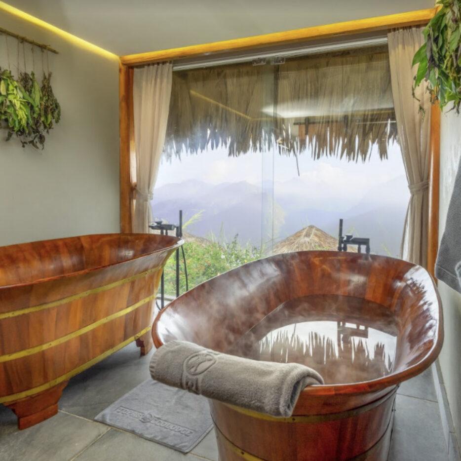 Rice spa herbal bath